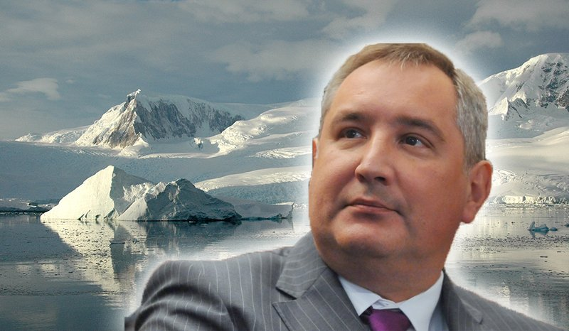 Rogozin argued that Russia had to mark the perimeter of its Arctic possessions, or it would lose the struggle for its sovereignty and independence.