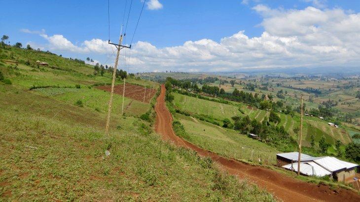 The fertile farming lands of Mt Elgon (Photo: Nina von Uexküll)