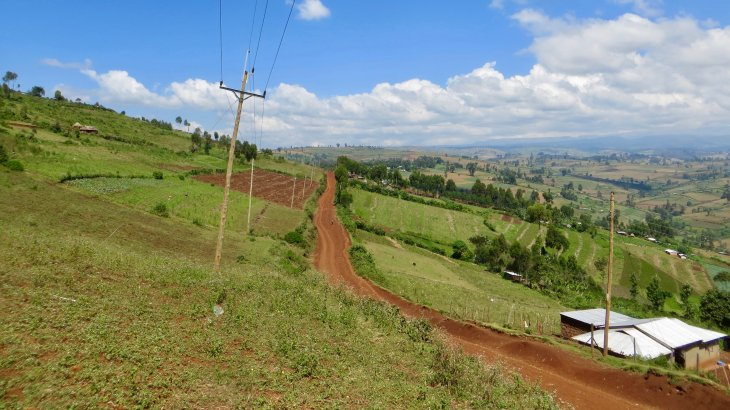 The fertile farming lands of Mt Elgon (Photo: Nina von Uexküll)