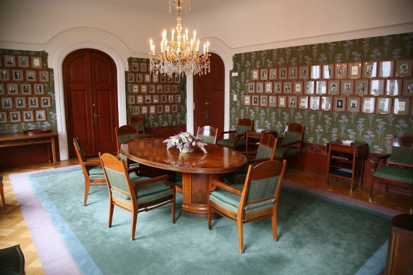 The meeting room of the Nobel Committee. Photo: Wikipedia