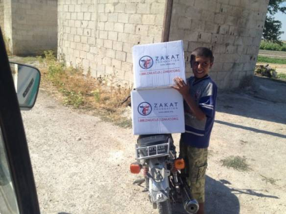 Photo: Zakat Foundation of America. Ramadan 2013 in Syria