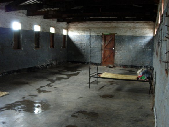 13 years after the civil war is over, a school dormitory in Mozambique looks like this. Photo: Adam Valvasori via Flickr