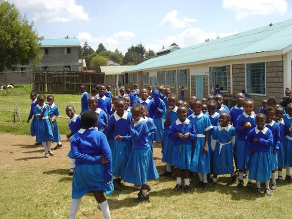 School children in Kenya. Photo: Gudrun Østby, PRIO
