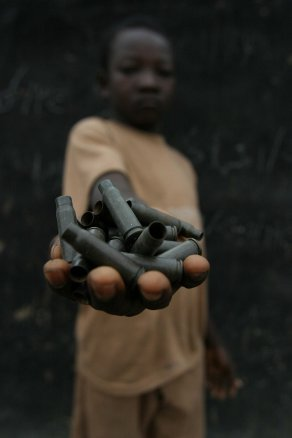 Child in a rebel camp in the north-eastern Central African Republic. Photo from Flickr.
