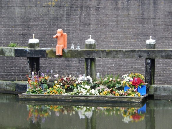 Memorial to the victims of MH17 in the Netherlands.  Nobody from Russia came to the ceremony in Nieuwegein.