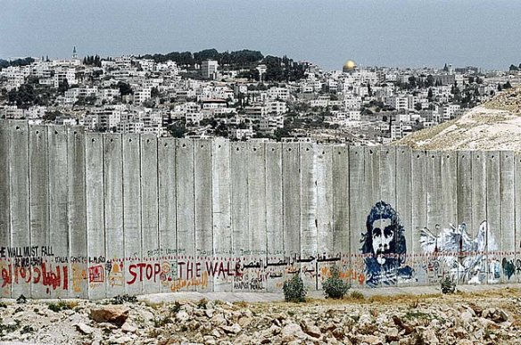 Palestinian Grafiti. Photo: Wall in Palestine