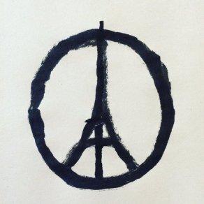 Peace for Paris by Jean Julien.