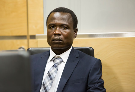 Dominic Ongwen appears at the ICC. PHOTO: International Criminal Court
