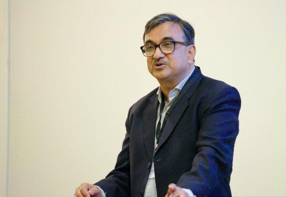 Professor Priyankar Upadhyaya. Credit: Kristian Niemi