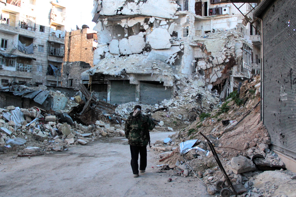 Aleppo under siege. PHOTO: CC2.0