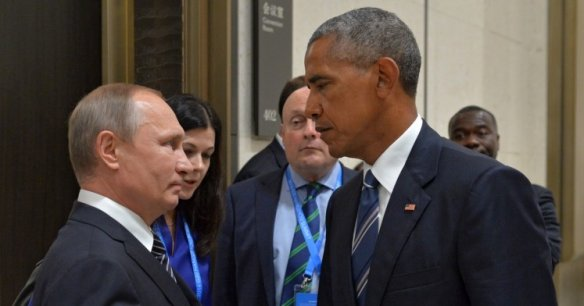 Obama and Putin found little joy in the meeting in Hangzhou