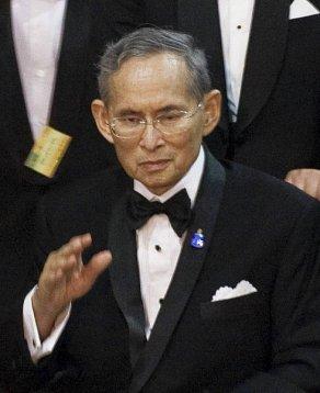 King Bhumibol Adulyadej (Rama IX). Wikimedia Commons