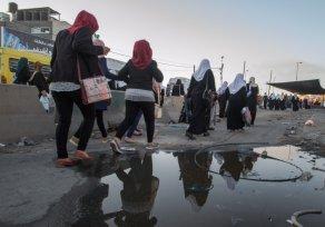Palestinian girls. Photo: Ebba Tellander