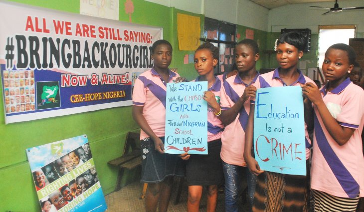 Chibok girls to begin school after meeting parents