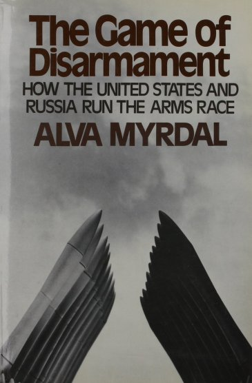 Alva Myrdal Research And Nuclear Disarmament Prio Blogs